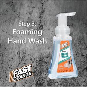 Fast Orange Anti-Bacterial Foaming Hand Wash1