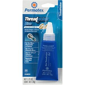 Permatex Medium Strength Threadlocker BLUE Gel