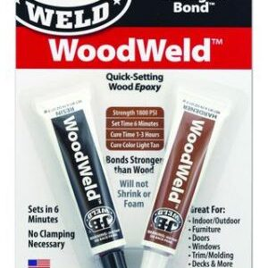 WOODWELD TWIN TUBE - 1.5 OZ